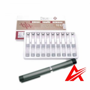 Beligas Pharmaceutical Human Growth Hormone 10x 10iu Cartridge set with 1xpen
