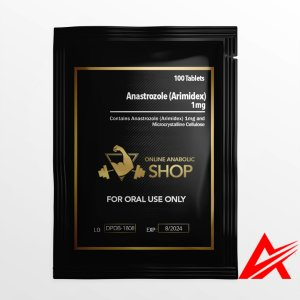 Online Anabolic Shop Orals-Anastrozole (Arimidex)-1mg* 100 Tablets