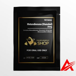 Online Anabolic Shop Orals-Metandienone (Dianabol)- 20mg*100Tablets